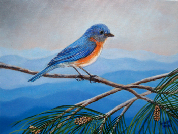 Bluebird Commission by Susanna Pantas